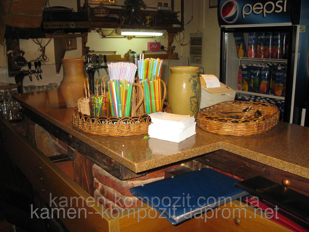 Столешницы, столы из искусственного литьевого камня, фото 1