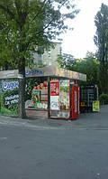 Садочек идет на улицы Киева. Брендинг торговых точек продалжается.