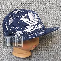 Джинсовая кепка р 50-54 2-5 лет бейсболка Adidas летняя мальчику для мальчика малышам на лето 4770 Синий