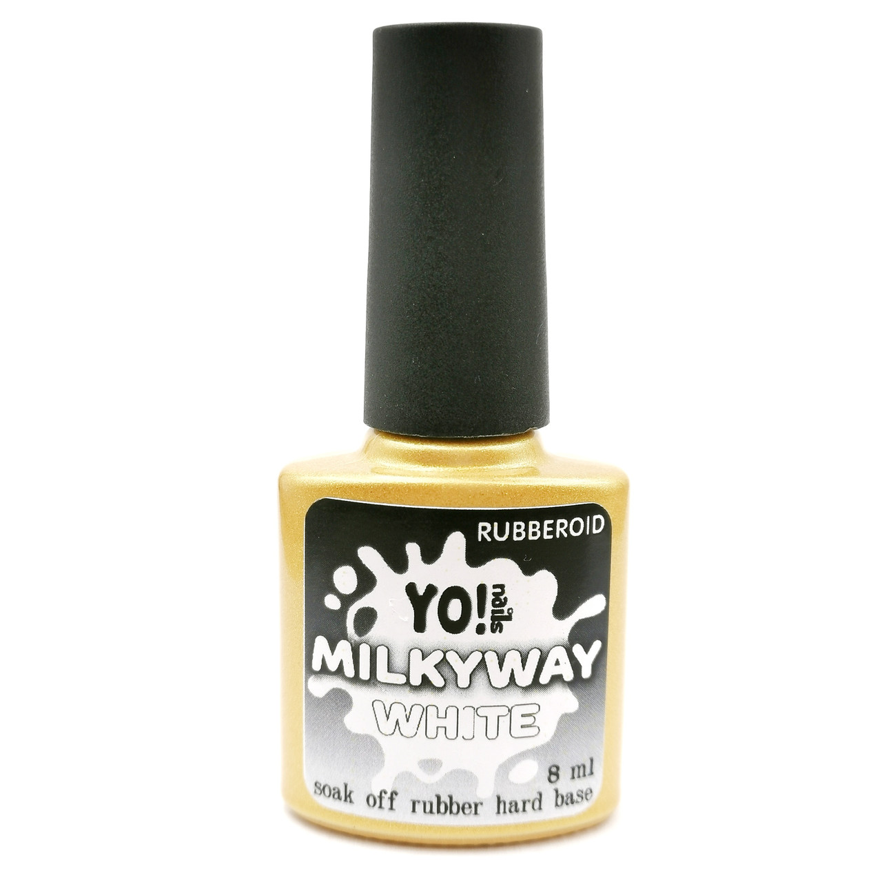 RubberOid Milkyway WHITE Soak Off Hard Base, 8 мл