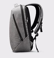 """Современный стильный городской рюкзак T-B3164U 14 """", серый, фото 5"""