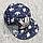 Джинсовая кепка р 50-54 2-5 лет бейсболка Adidas летняя мальчику для мальчика малышам на лето 4770 Синий, фото 2