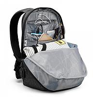 """Современный стильный городской рюкзак T-B3164U 14 """", серый, фото 7"""