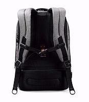 """Современный стильный городской рюкзак T-B3164U 14 """", серый, фото 8"""