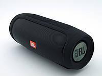 JBL Charge 4 E4 20W copy, блютуз колонка с флешкой и фм, черная. | AG320033