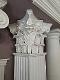 Квадратна колона з гіпсу, гіпсова колона ка-67, фото 3