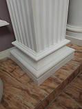 Квадратна колона з гіпсу, гіпсова колона ка-67, фото 5