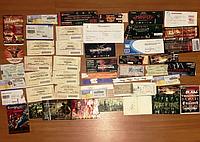 Артефакты фестивалей концертов медиатор автограф рок атрибутика