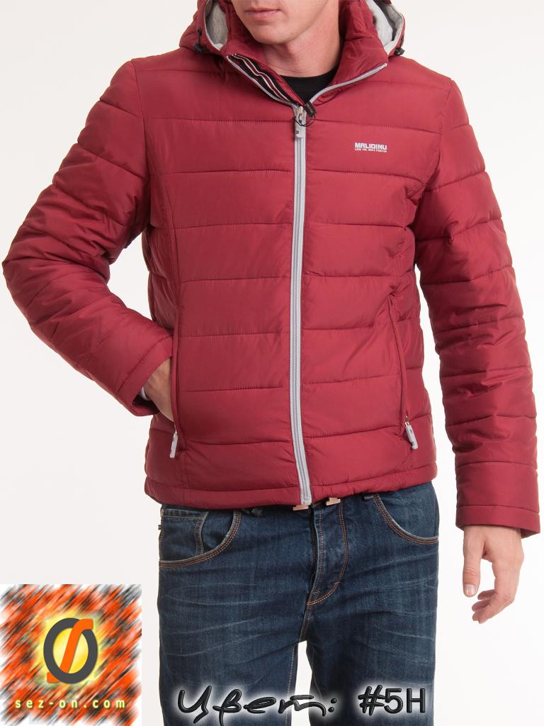 Куртка Malidinu 13511 зимняя на Тинсулейте Бордовый 5Н