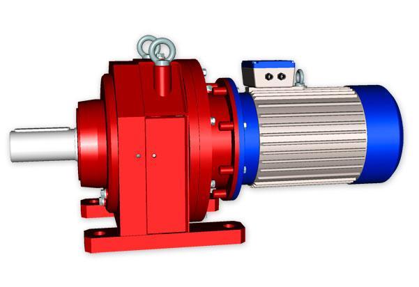 Планетарний мотор-редуктор 3МП-125