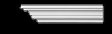 Карниз потолочный гладкий Classic Home 2-0481, лепной декор из полиуретана