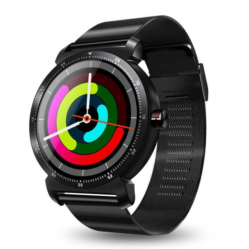 Smart watch K88H Plus - Черный корпус, черный металлический ремешок