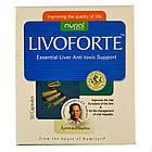 Ливофорте (Livoforte, Nupal Remedies), 50 капс - препарат для печінки, лікування вірусного гепатиту, антиоксидант, фото 4
