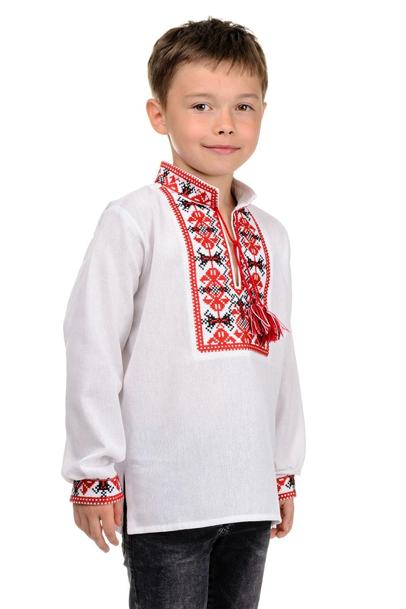 Вышиванка для мальчика Козачок ( красный)