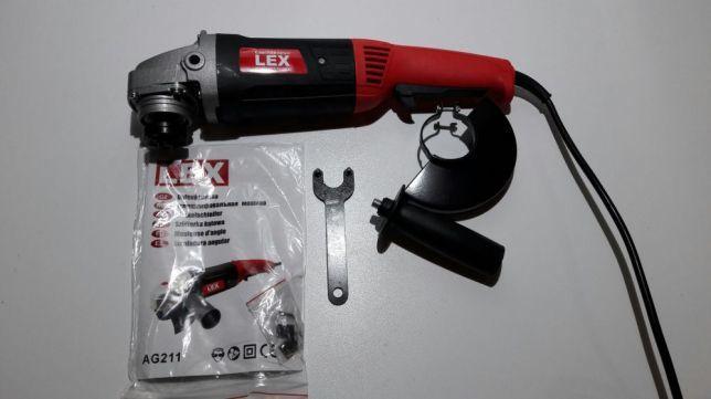 Болгарка LEX AG 211 ( удлиненная ручка+ регулятор оборотов )