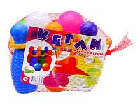Детские Кегли малые 6 шт.+ 2 шарика, с ручкой ТМ Бамсик, 024/5