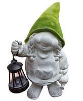 Декоративная фигурка Engard Гном с фонарем 20х17х35 см AW-27