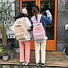Вельветовый рюкзак с ушками, фото 3