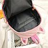 Вельветовый рюкзак с ушками, фото 10