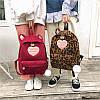 Вельветовый рюкзак с ушками, фото 4