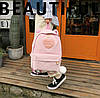 Вельветовый рюкзак с ушками, фото 8