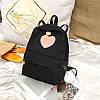 Вельветовый рюкзак с ушками, фото 5