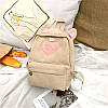 Вельветовый рюкзак с ушками, фото 2