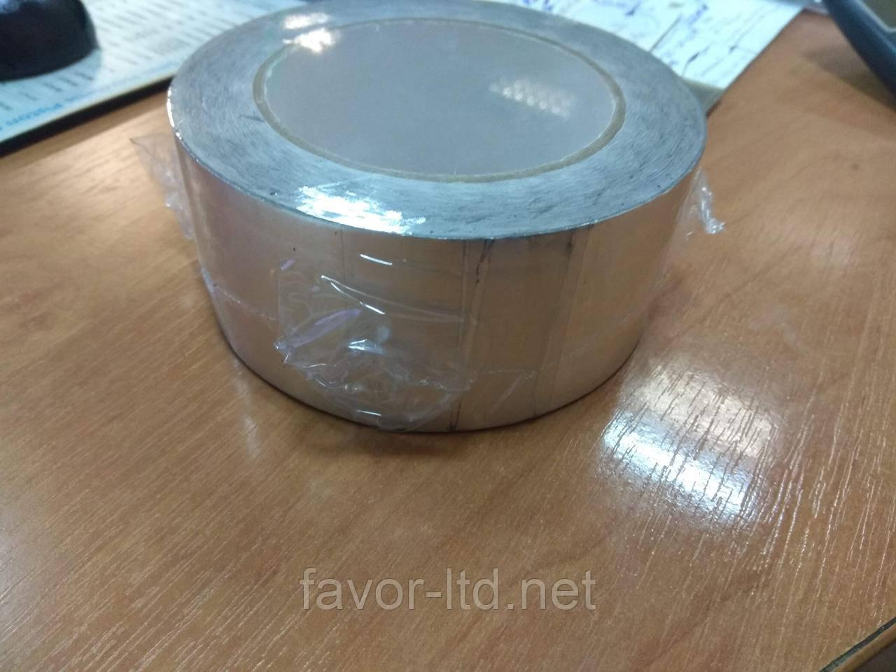Скотч алюминиевый 50 мм*40 м