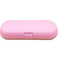 Дорожный футляр для электрических зубных щеток Oral-B, Philips розовый, фото 1
