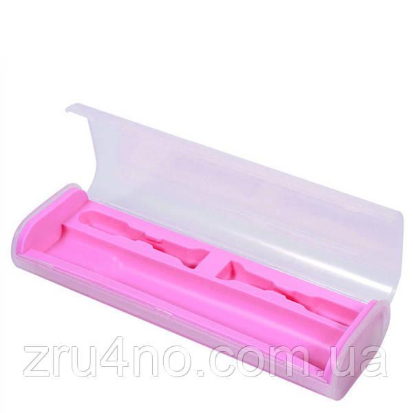 Дорожный футляр для электрической зубной щетки, розовый