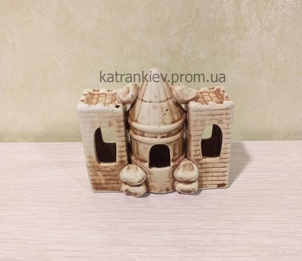 Декорация в аквариум замок, башня, декор для аквариума с 373