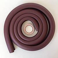 Мягкая защита на углы 2 метра (коричневая), фото 1