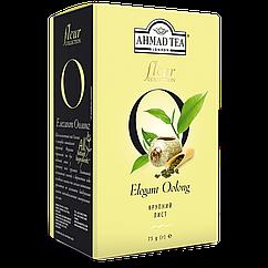 Чай Ахмад крупнолистовой зелёный Флёр Оолонг 75 грамм