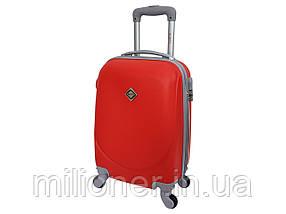 Чемодан ручная кладь Bonro Smile (мини) красный (red 624)
