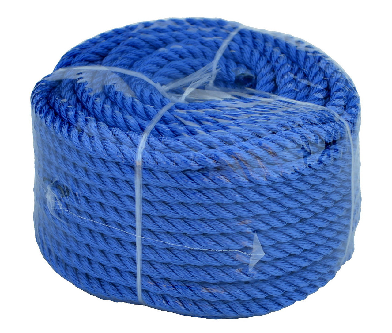 Веревка 30м 8мм синяя полиэстер универсальная