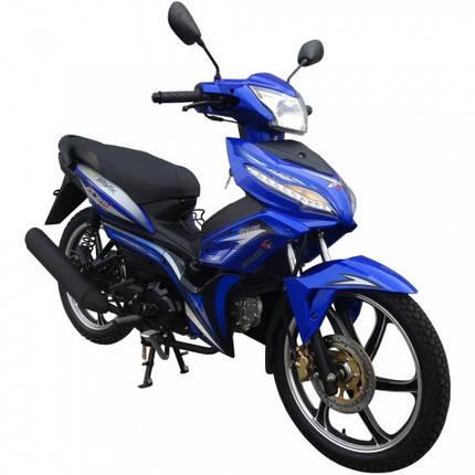 Мотоцикл SP125C-3 синий, фото 2