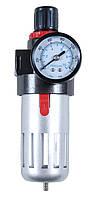 """Блок 7034101 Sigma для подготовки сжатого воздуха с редуктором и манометром под резьбу 1/2"""""""