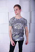 Удобная мужская футболка Armani Jeans, фото 1