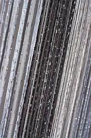 Шторы нити радуга дождь 1+7+9 белый+серый+черный