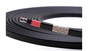 Саморегулирующийся нагревательный кабель 17 В/м черный
