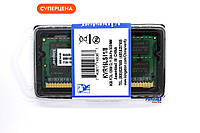 Оперативная память Kingston SODIMM DDR3L-1600 8GB PC3-12800 (KVR16LS11/8) (1.35V)