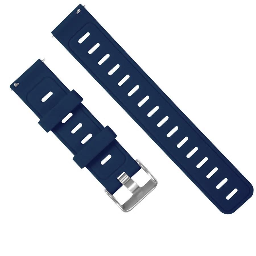 Amazfit Pace / Stratos / GTR 47 мм. Ремешок для смарт часов, Navy blue, ширина - 22 мм.
