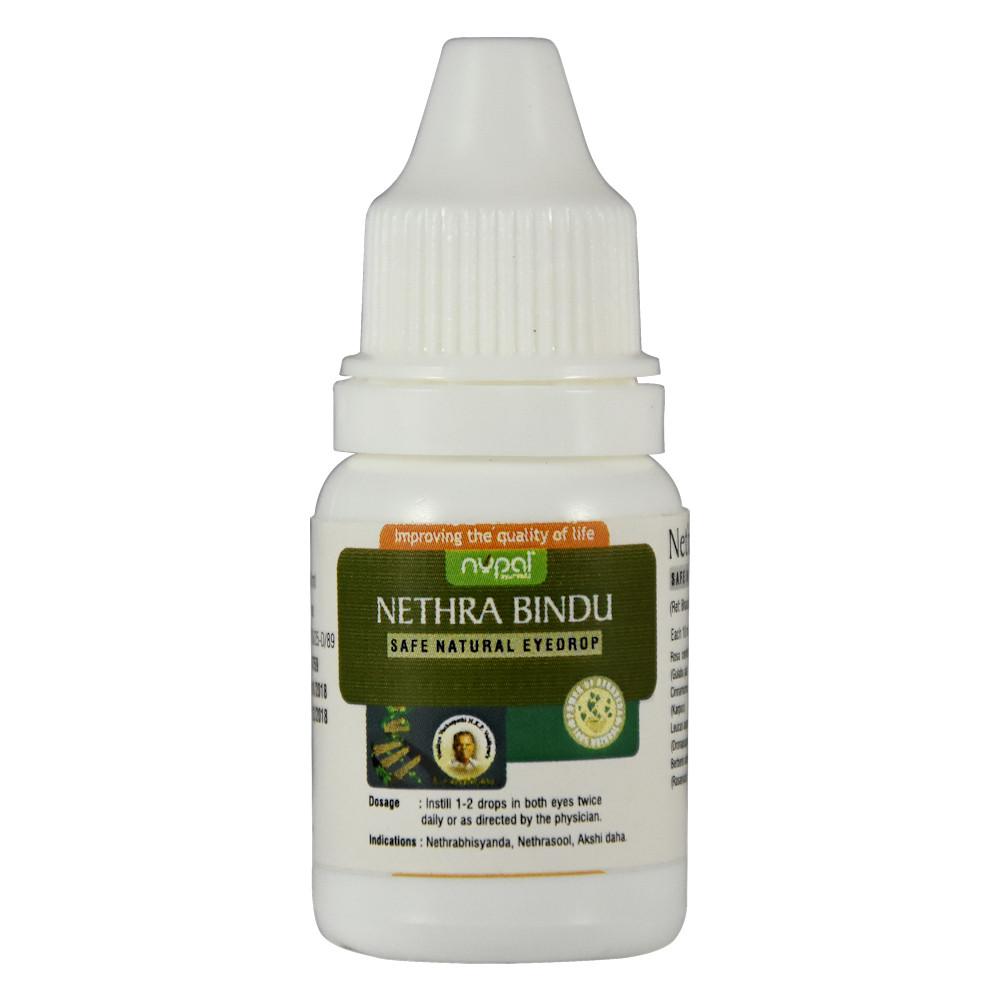 Глазные капли Нетра Бинду (Nupal Remedies) - аюрведа премиум класса, 10 мл