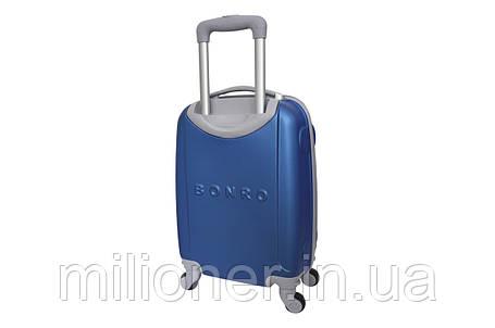 Чемодан ручная кладь Bonro Smile (мини) синий, фото 2