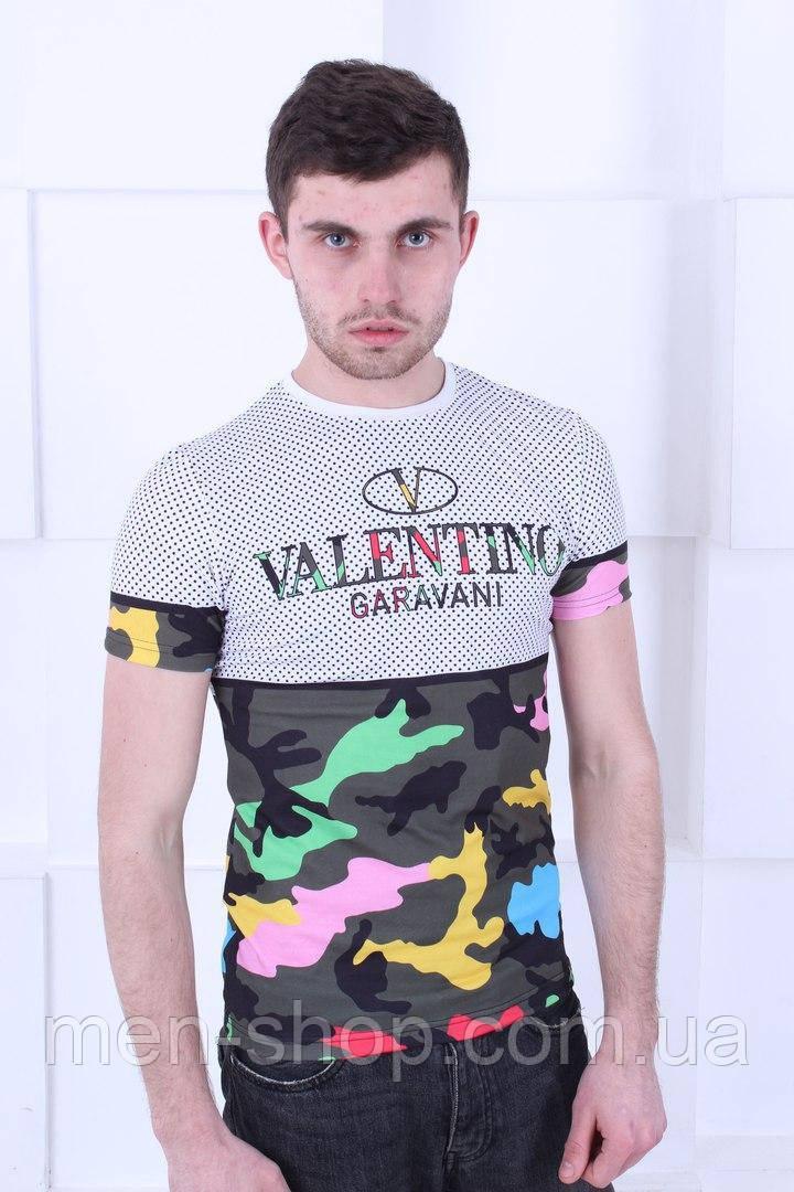 Яркая мужская футболка Valentino Garavani