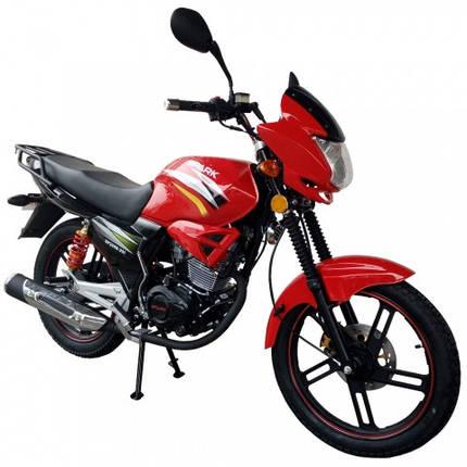 Мотоцикл SP200R-25I красный в сборе, фото 2