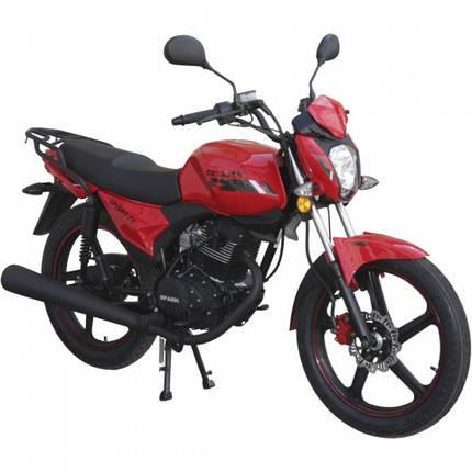 Мотоцикл Spark SP150R-24 красный в сборе, фото 2