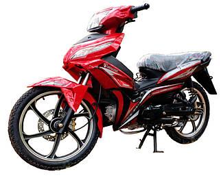 Мотоцикл SP125C-3 красный