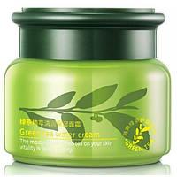 Освежающий восстанавливающей крем с экстрактом зеленого чая Rorec Green tea
