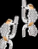Гарнітур із золота і срібла Юр'їв арт.111 17, фото 3